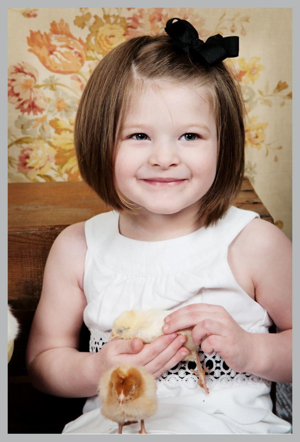 Прическа для младенцев фото