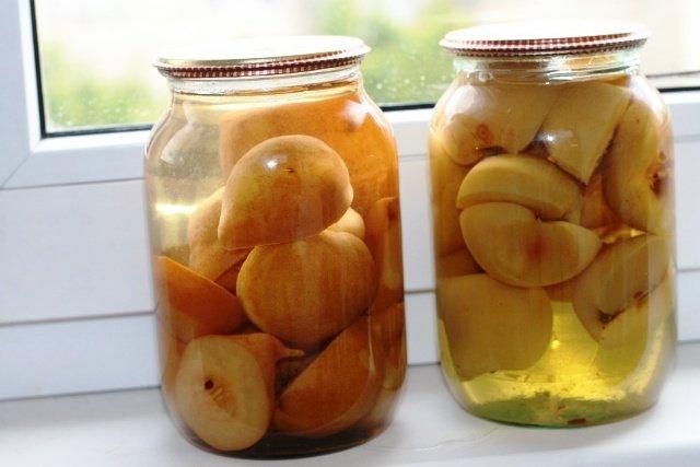 Как сделать компот из яблок консервация