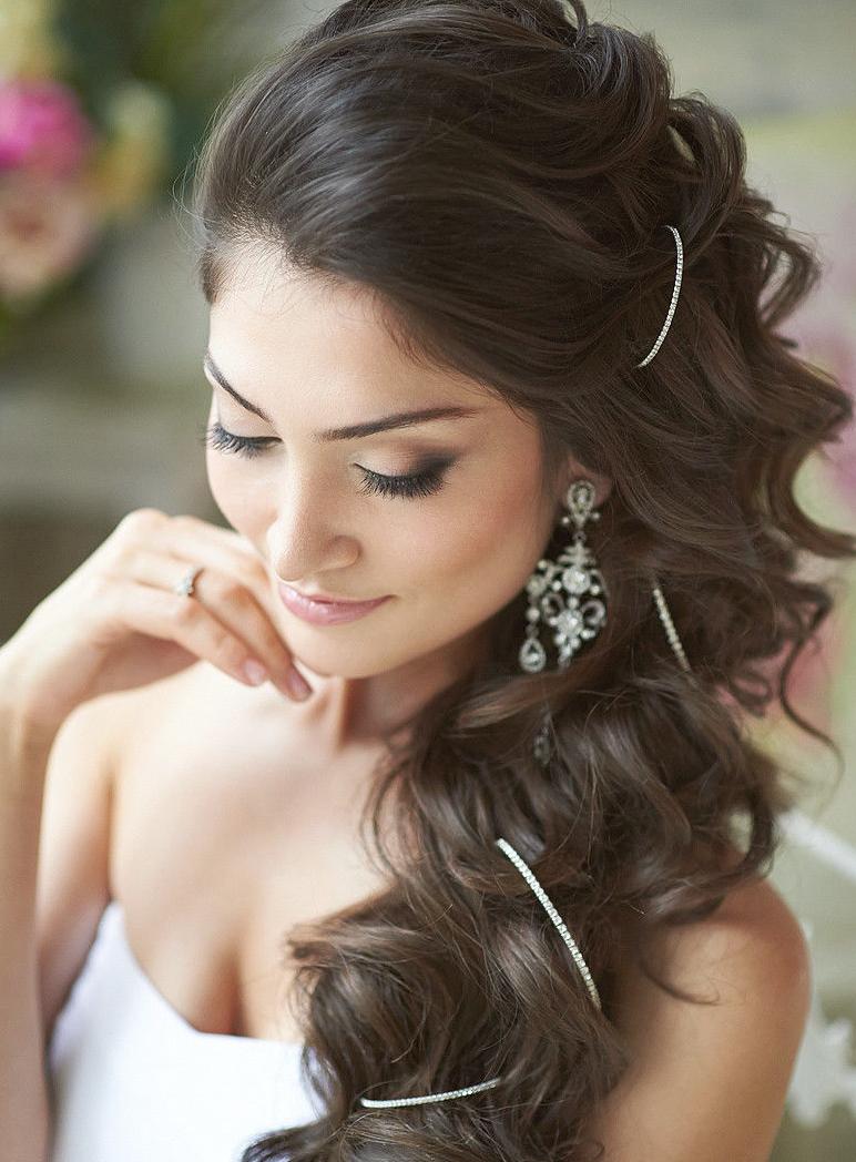 Свадебные прически для всех типов волос