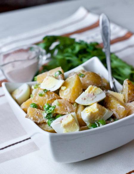 Как приготовить салат с яиц и картофеля