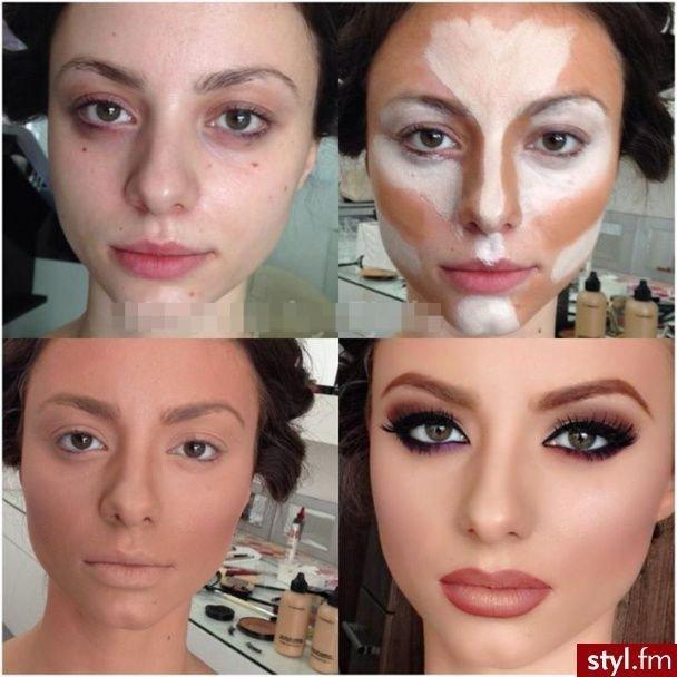 Нанесение макияж