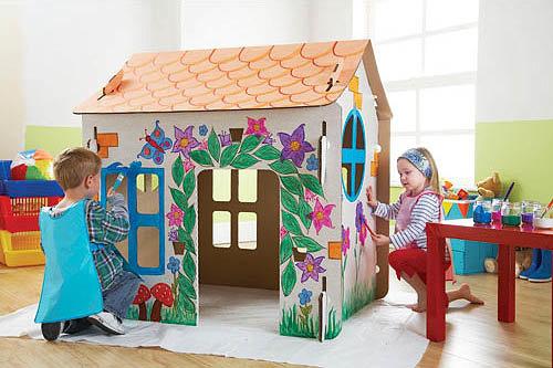 Детский дом для ребенка своими руками