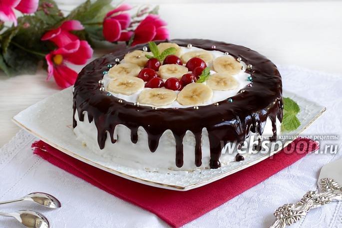 Пошаговый рецепт фруктового торта