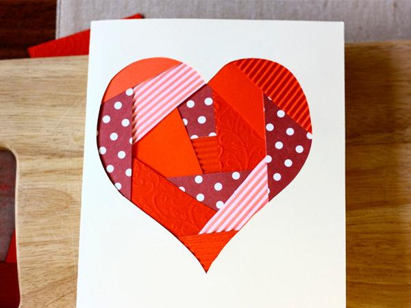 Как сделать из бумаги с днем валентина