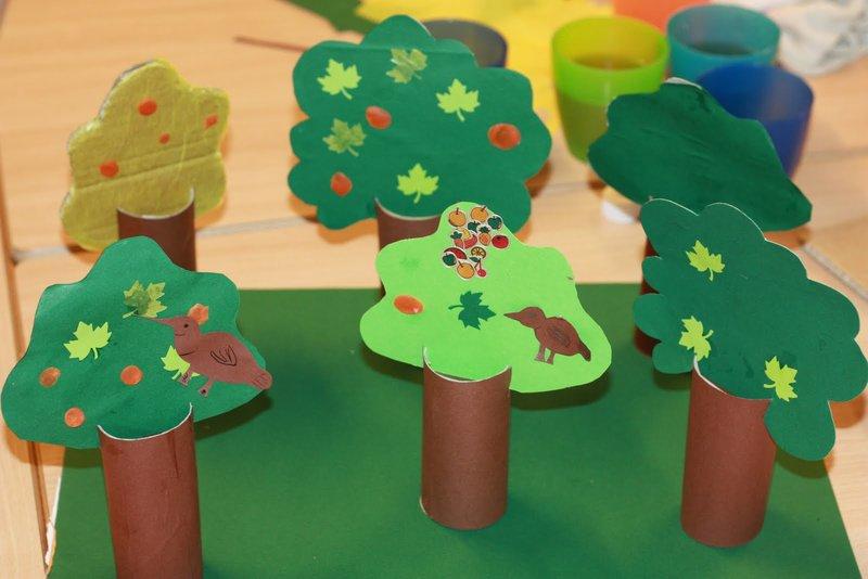 Как сделать дерево из бумаги своими руками схема