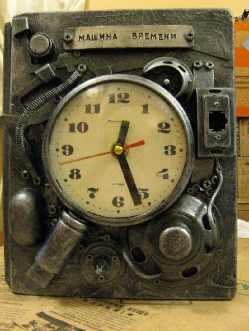 Как сделать часы человека