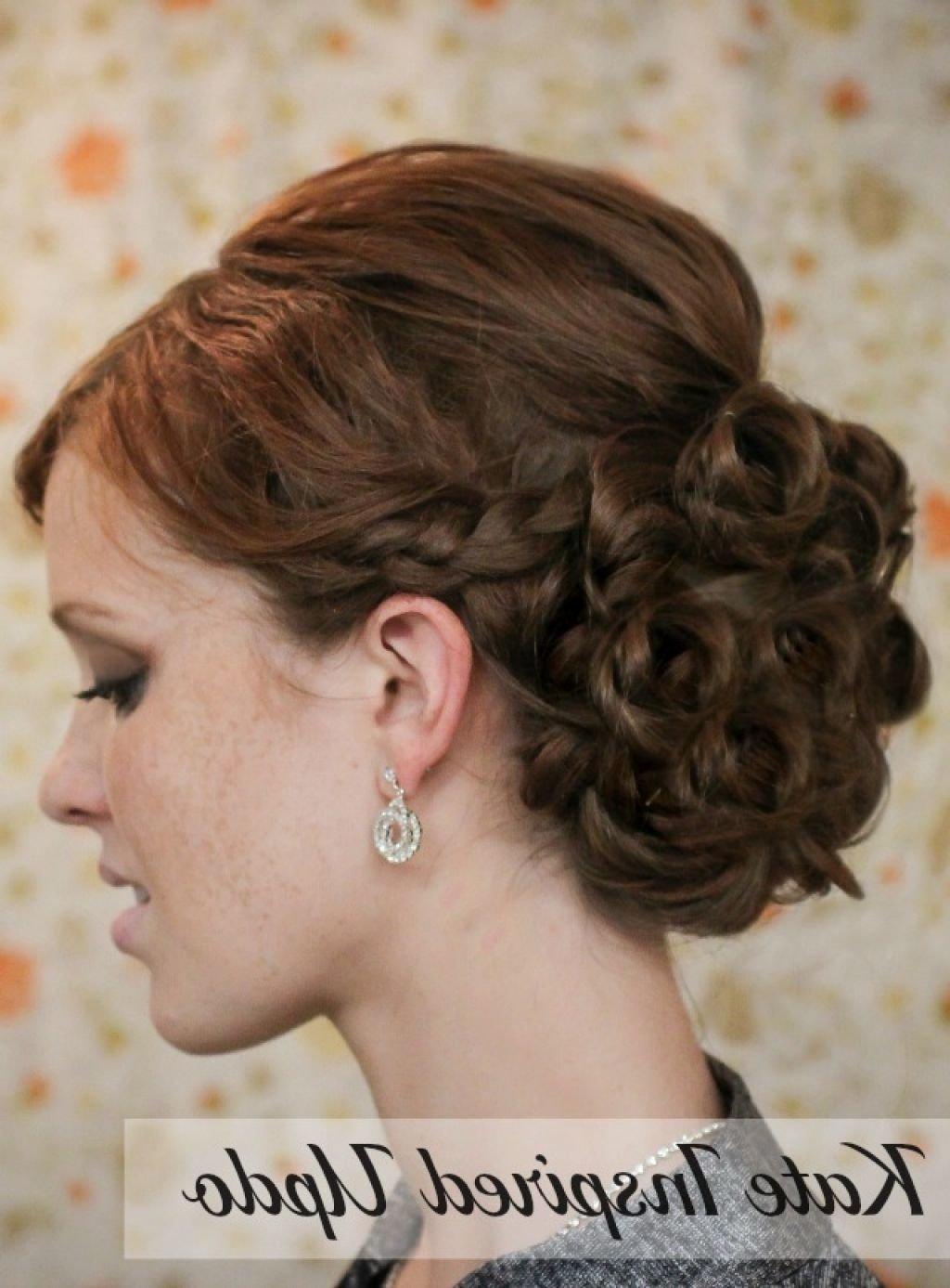 Прически для средних волос на свадьбу своими руками