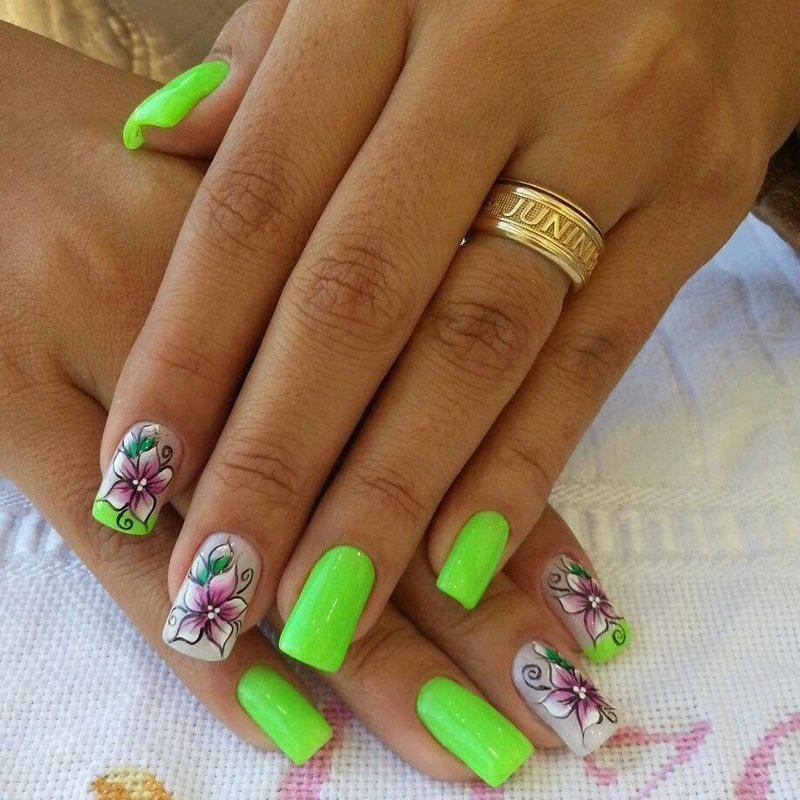 Ногти дизайн 2016 лето