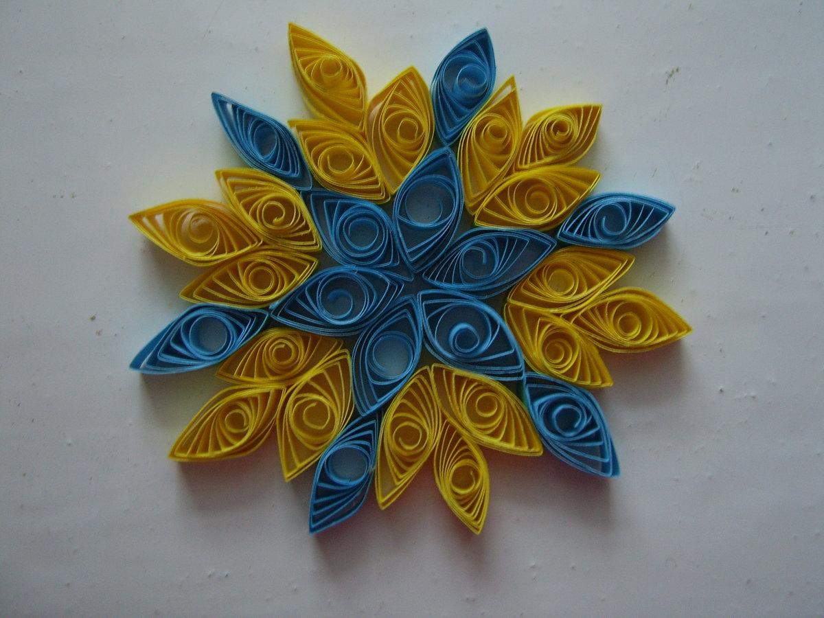Поделки с цветной фольги