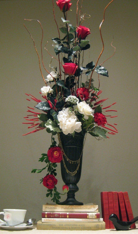 Декор букетов из цветов 117
