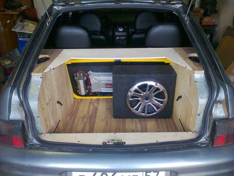Тюнинг багажника ваз 2111 своими руками