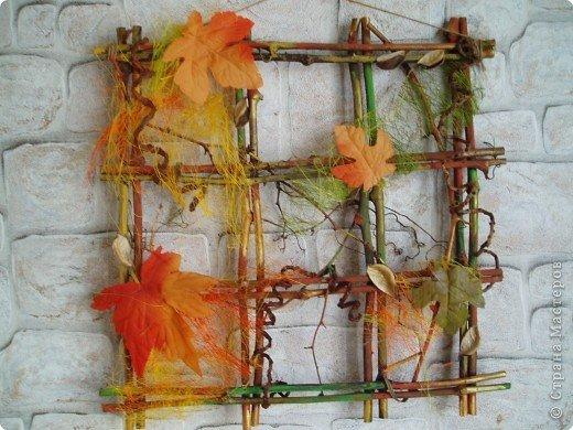 Панно на тему осень своими руками фото