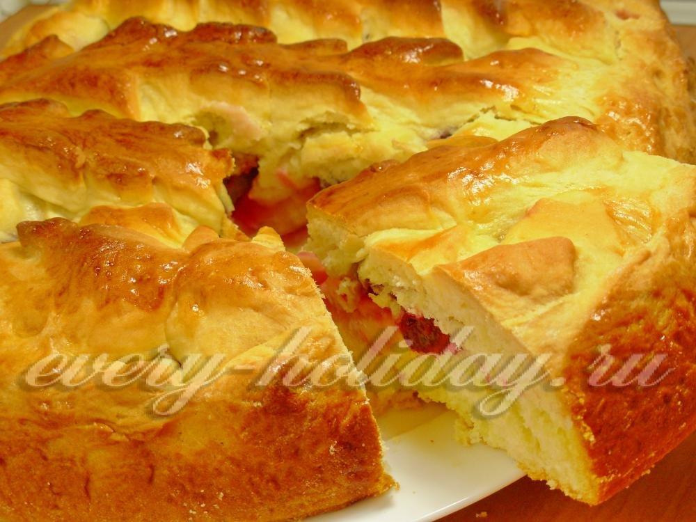 Быстрый несладкий пирог в духовке рецепт