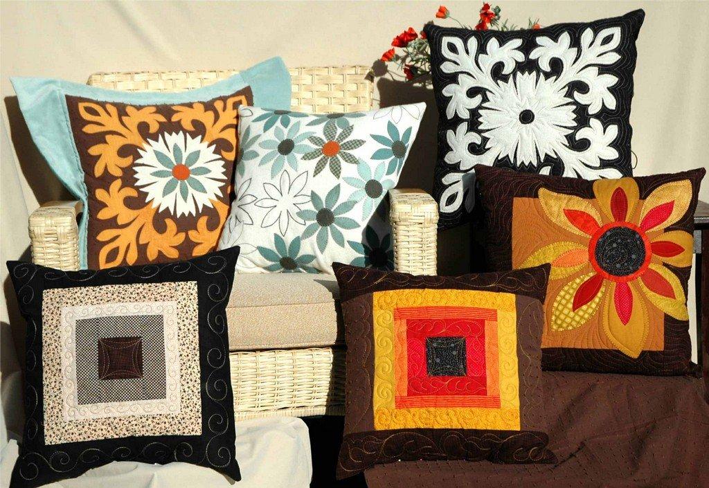 Дизайн на подушки своими руками 924