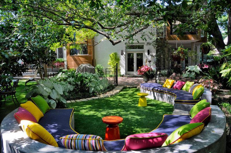 Дизайн моего двора и сада своими руками