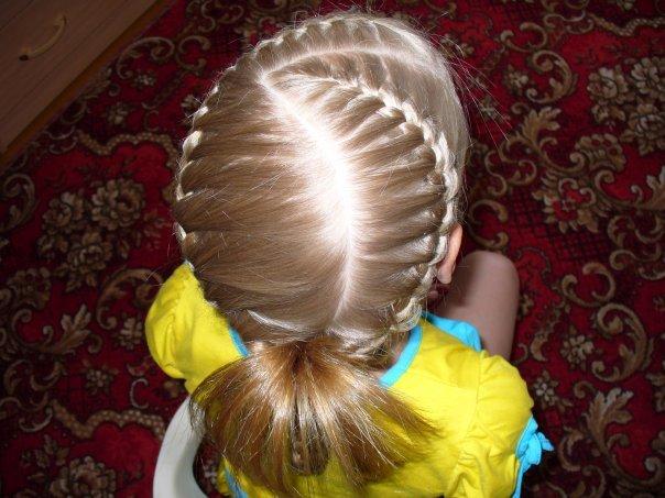 Легкие прически в сад на длинные волосы