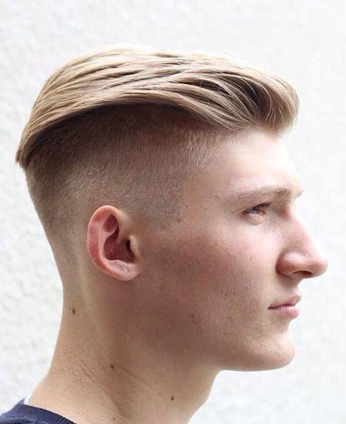 Мужские прически для блондин