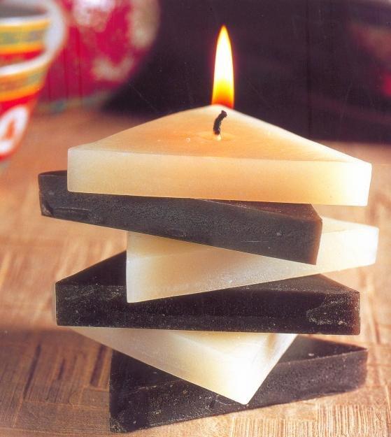 Как сделать тонкие свечи своими руками 73