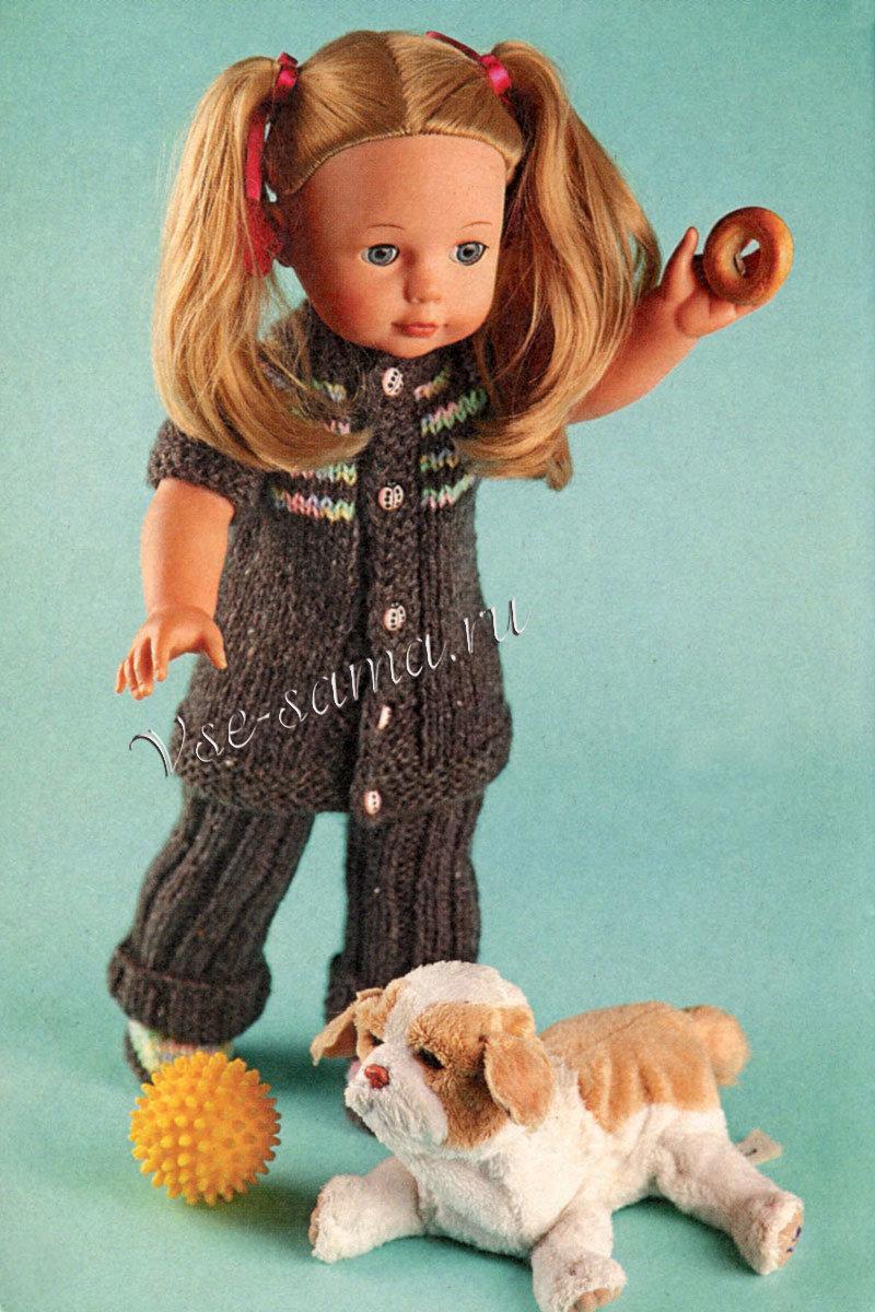 Вяжем одежд для кукол