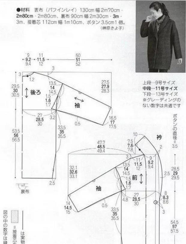Простая выкройка пальто для начинающих простые выкройки своими руками
