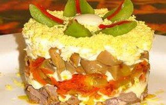 Рецепты салатов с фото для кормящей мамы