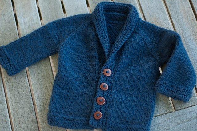 Вязание на спицах кардиган для мальчика 105