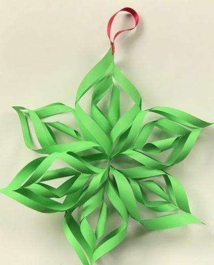 Как сделать новогоднюю игрушку из бумаги своими руками из бумаги