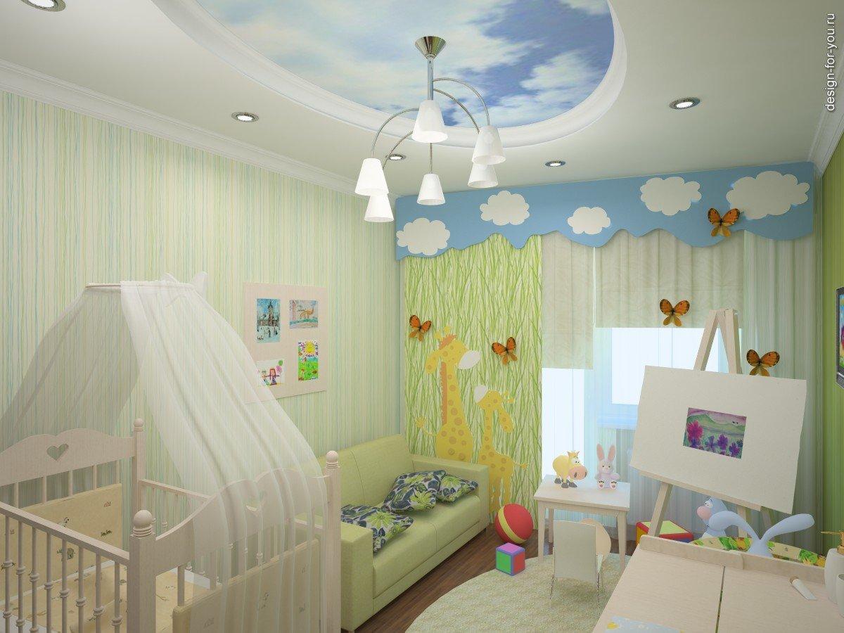 Маленькая детская комната для детей фото