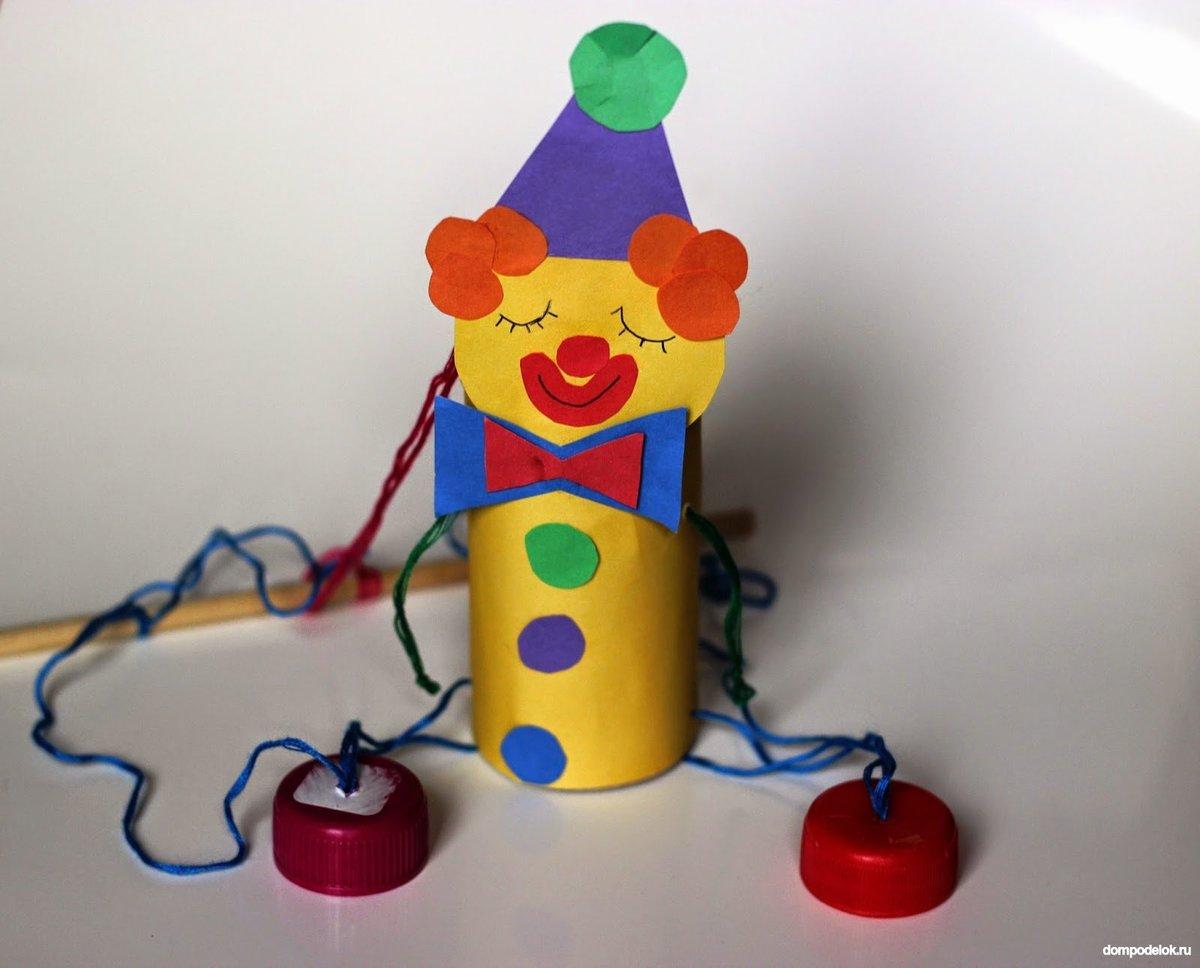 Как сделать клоуна из бумаги своими руками, мастер класс, схема 18