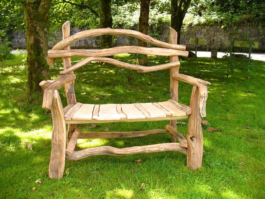 Изготовление мебели садовой своими руками