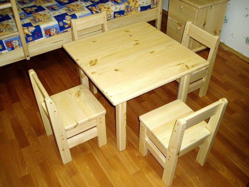 Мебель своими руками стол-стул