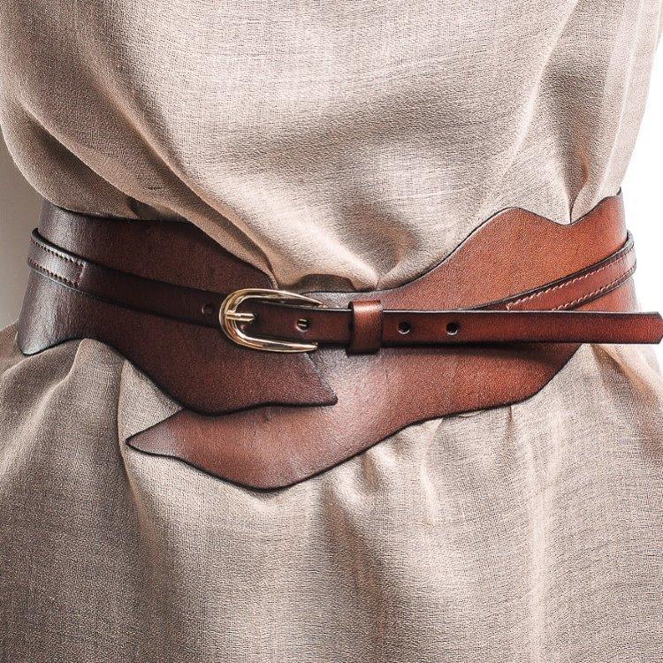 Украшаем кожаный ремень своими руками 92