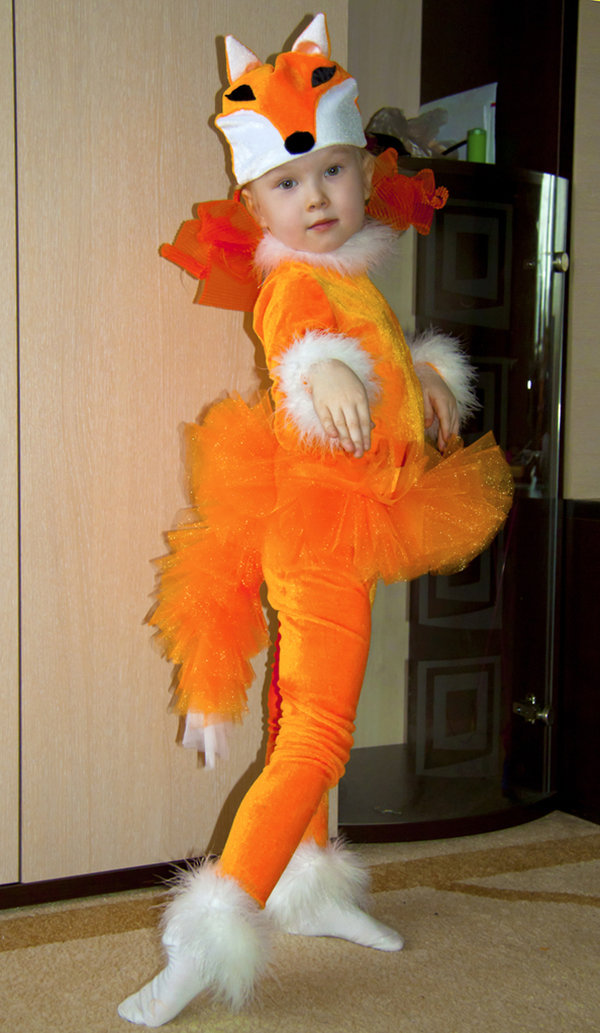 Как сделать костюм лисички своими руками для девочки
