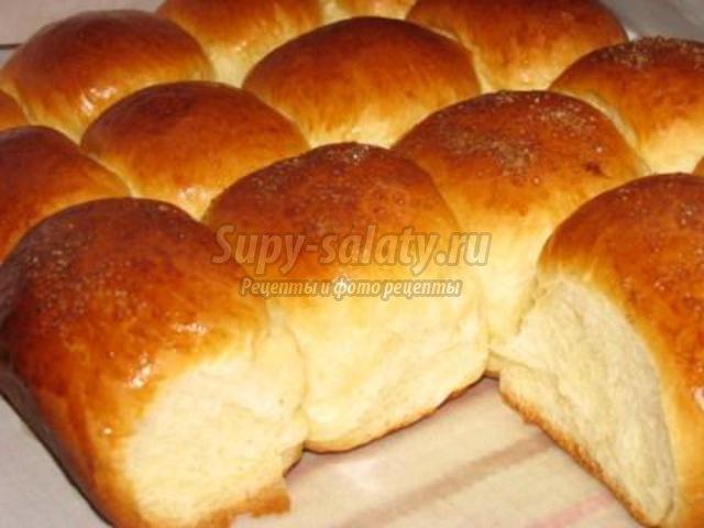 Сладкие булочки без дрожжей рецепт