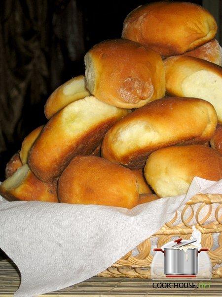 Пирожки сухих дрожжах рецепт фото