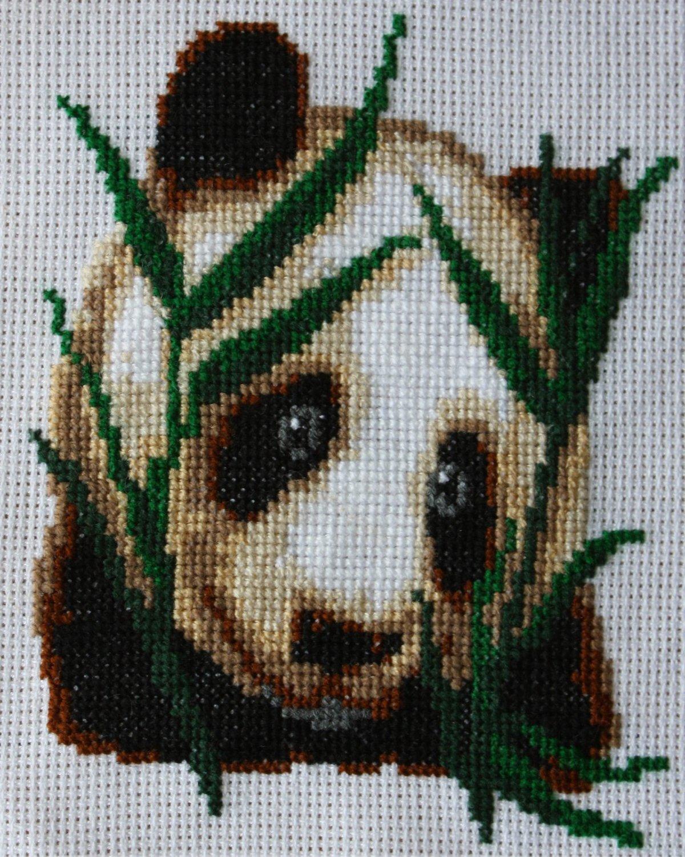 Вышивка Панды / Вышивка крестом / В рукоделии 5