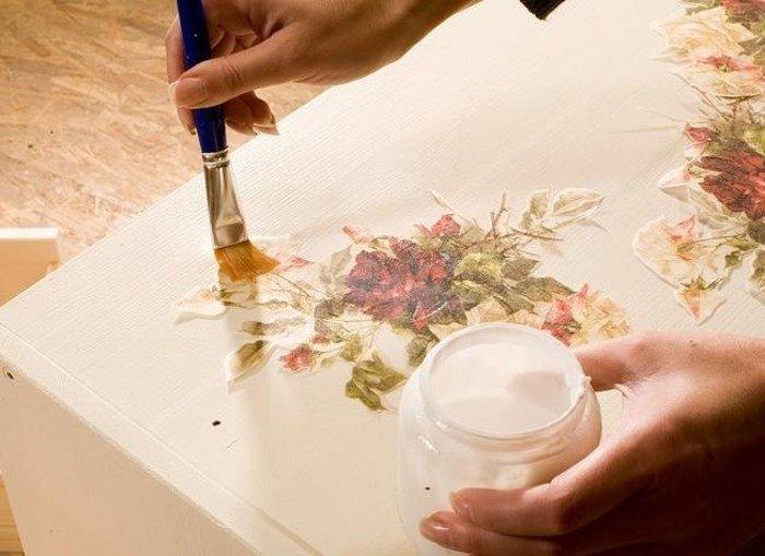 Как сделать рисунок для декупажа своими руками