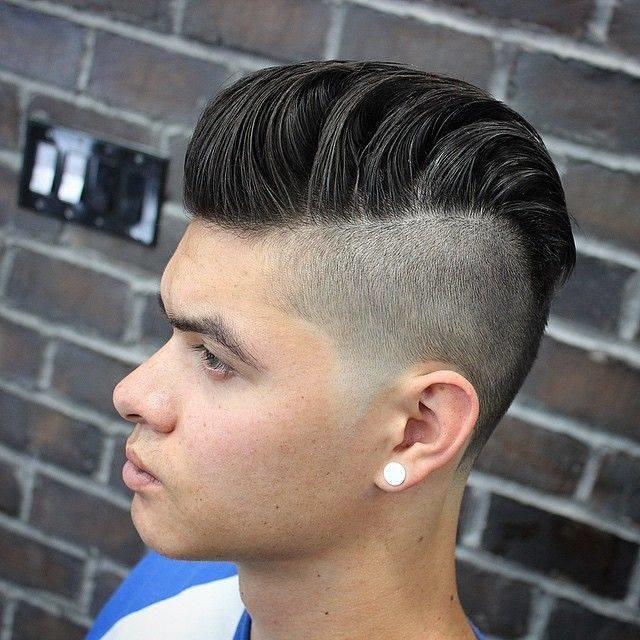 Как сделать причёску на бок мальчику