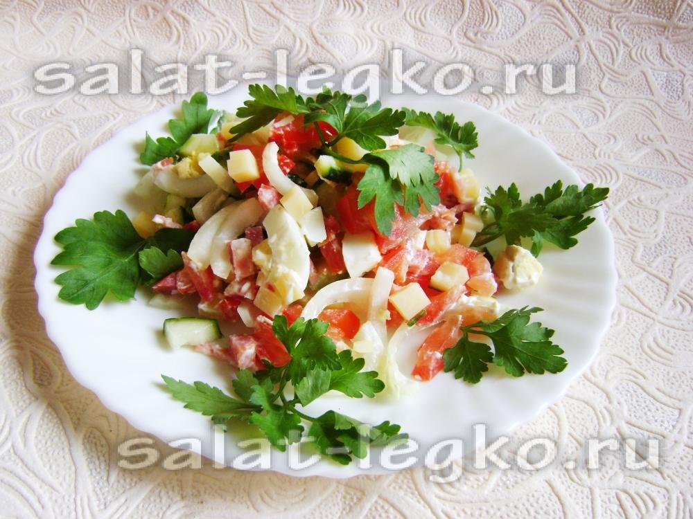 Салат восторг пошаговый рецепт с