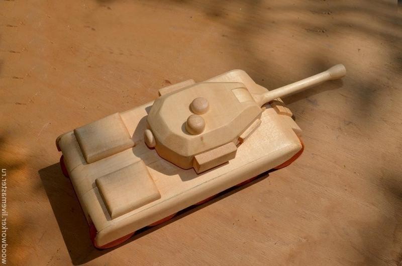 Сделай сам своими руками танк из дерева