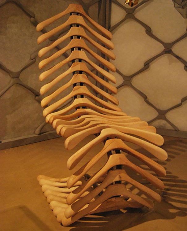 Оригинальные стулья своими руками 11