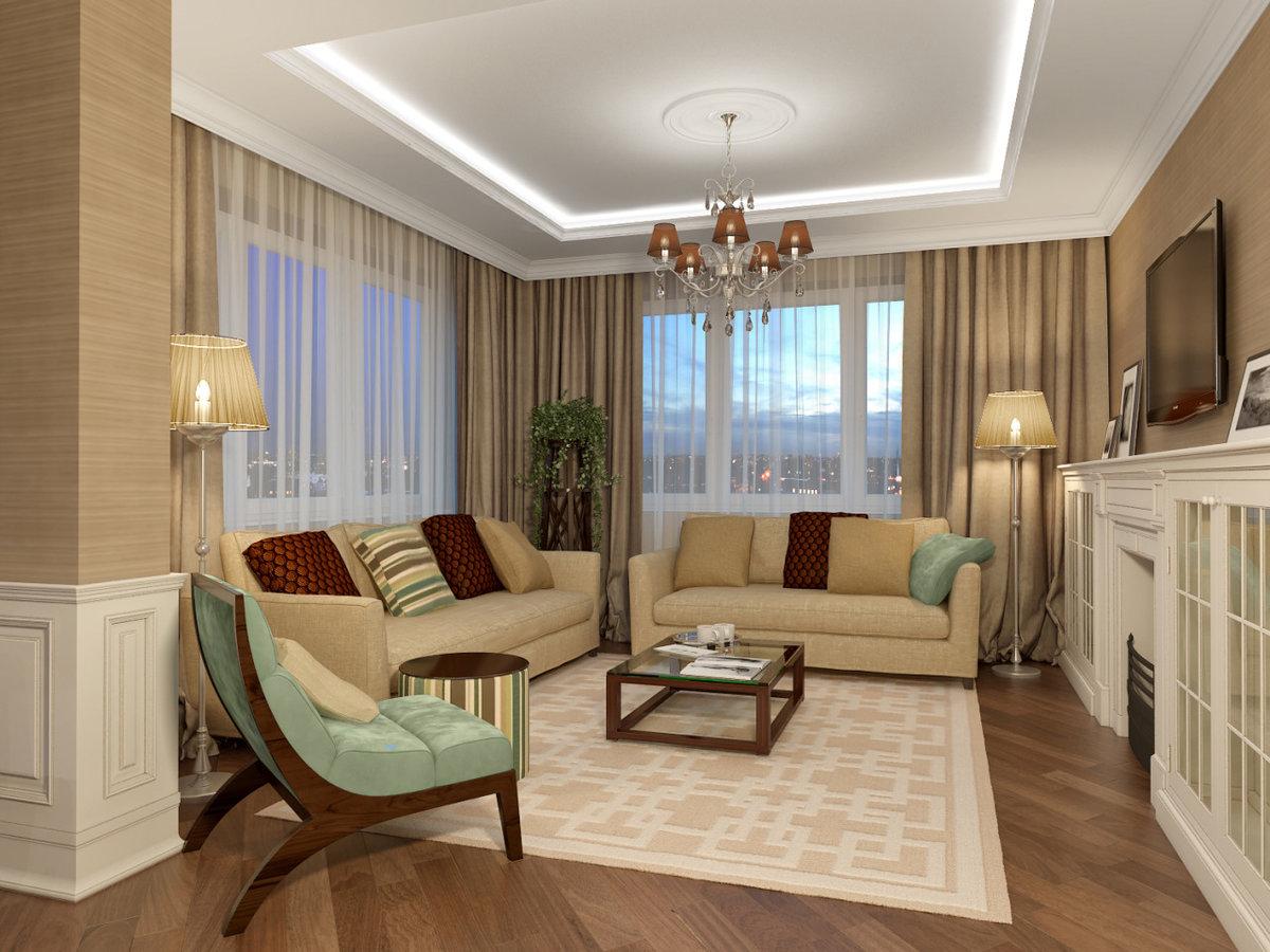 Обстановка однокомнатная квартира дизайн