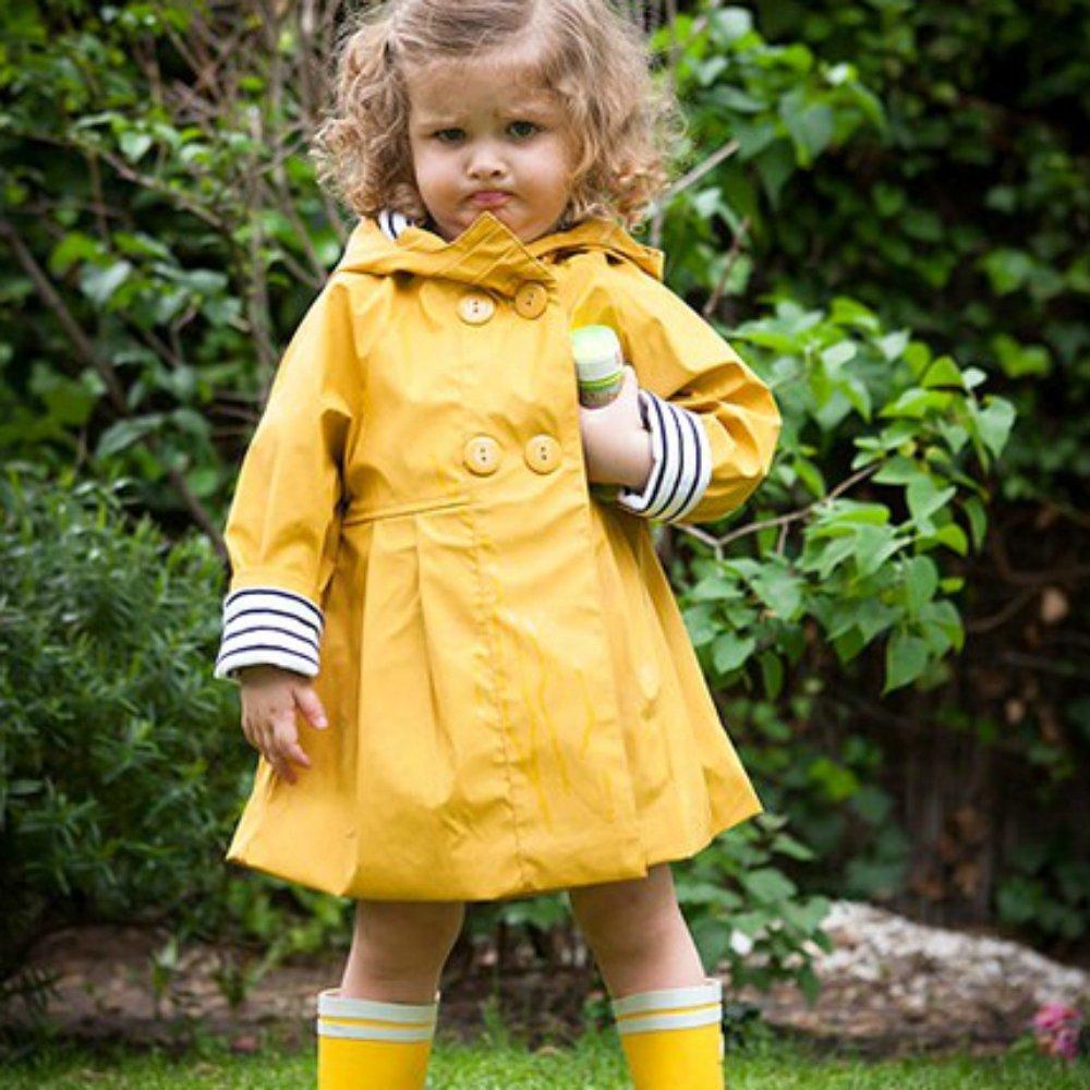 Сшить детский дождевик из плащевки