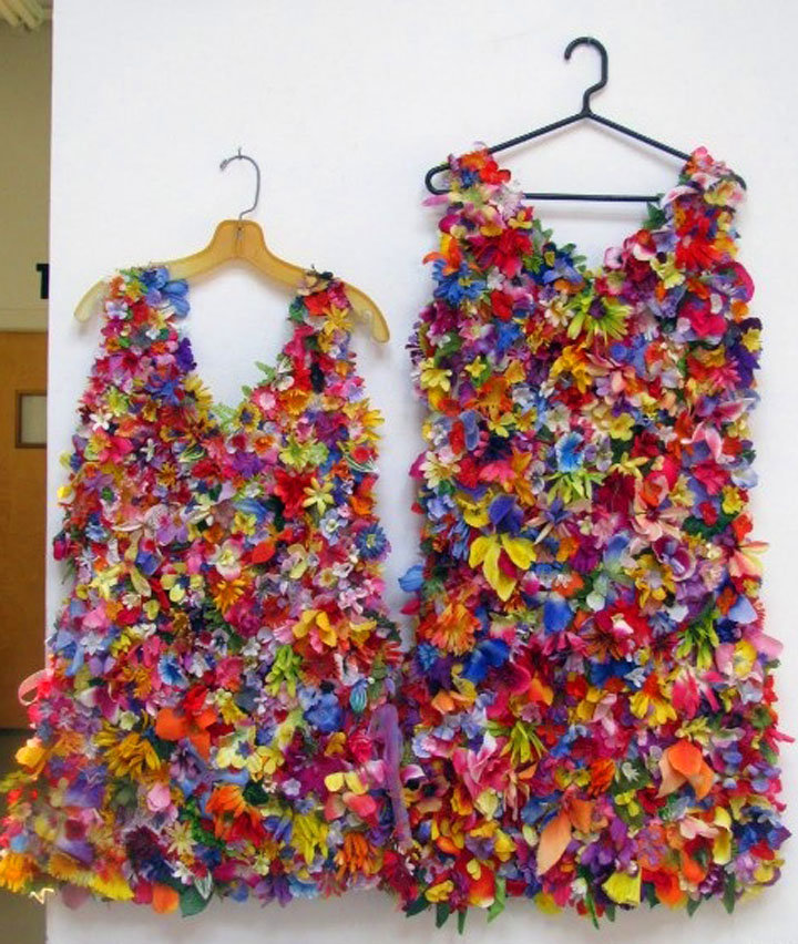 Украшение платья своими руками фото