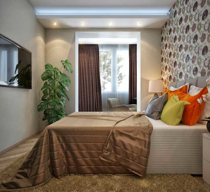 Интерьер маленькой спальни 12 кв.м фото 2016 современные идеи