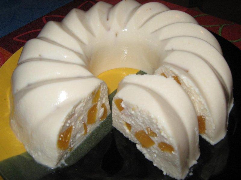 Крем из творога с желатином рецепт