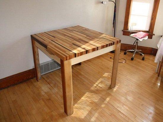 Фото обеденный стол своими руками