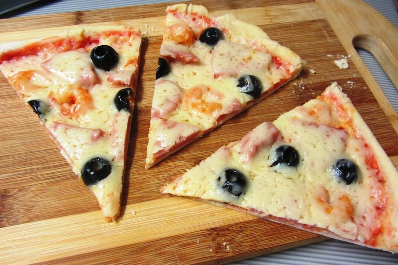 Пицца с тонким тестом рецепты с фото