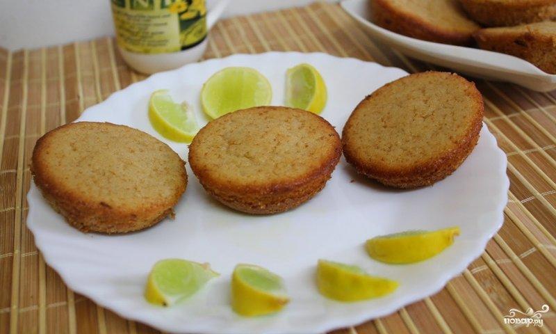 Маффины лимонные рецепт с пошагово