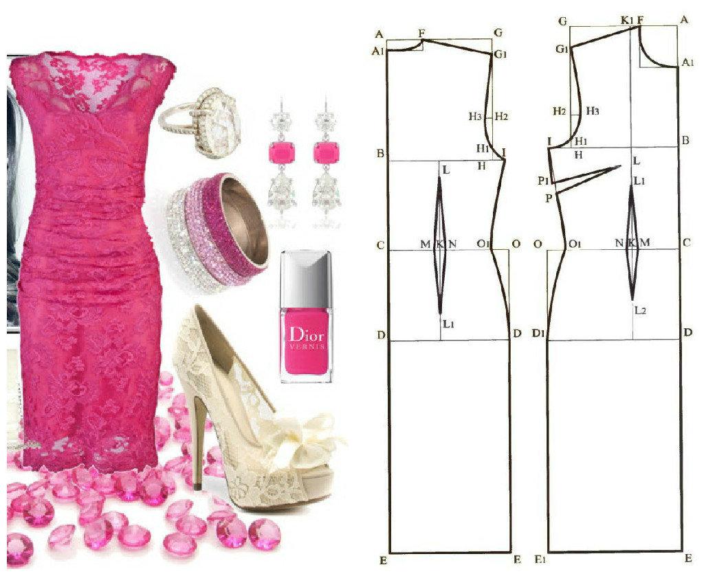Как сшить платье шикарное 41